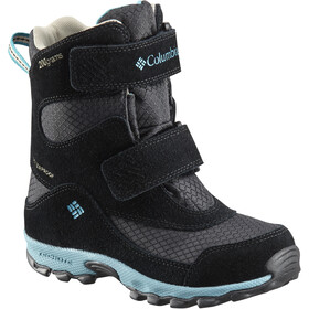 Columbia Parkers Peak Hook-and-Loop Boots Kids black/pacific rim